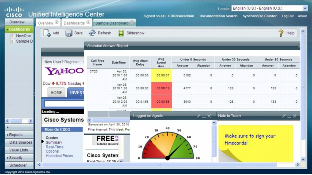 Cisco Unified Intelligence Center